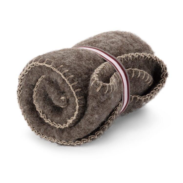 Sitzdecke Wolle