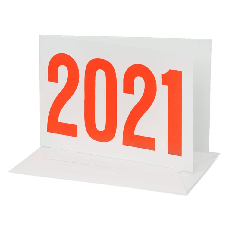 Grußkarte Zwölfer, 2021