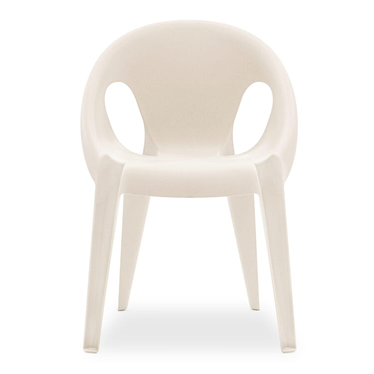 Armlehnstuhl Bell Chair, Weiß