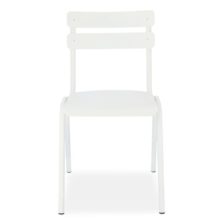 Stuhl Aluone, Reinweiß RAL 9010