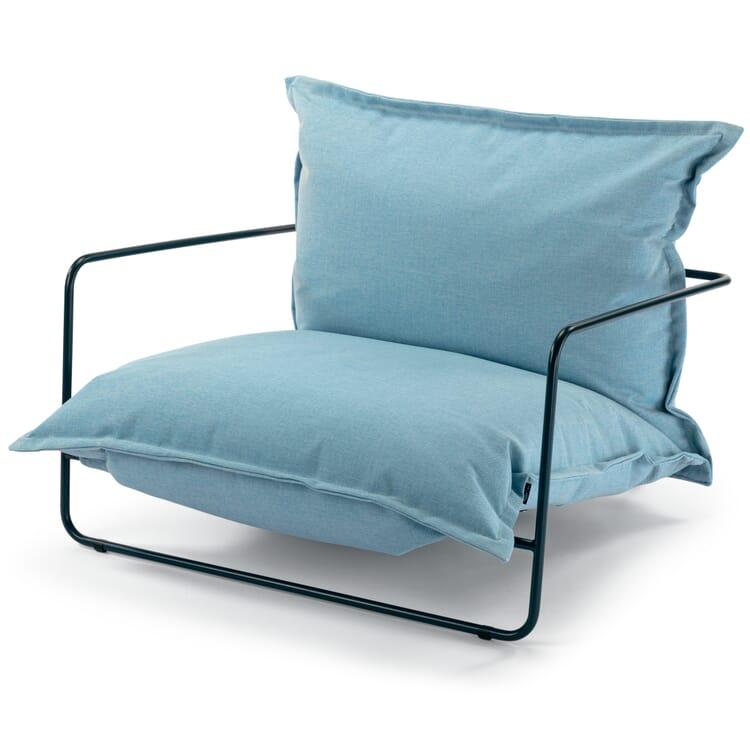 Sessel Finca, Blau/Graublau RAL 5008