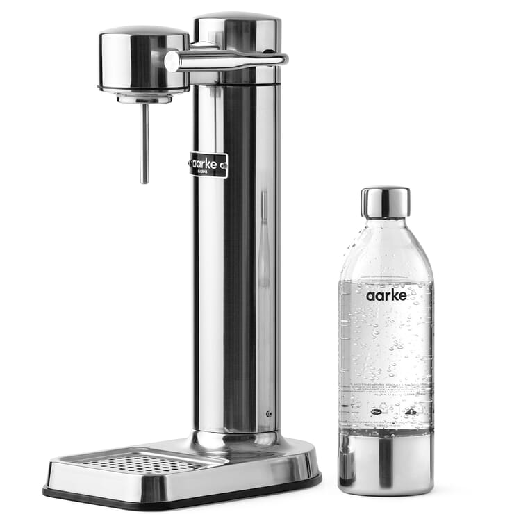 Wassersprudler Carbonator 3, Poliert