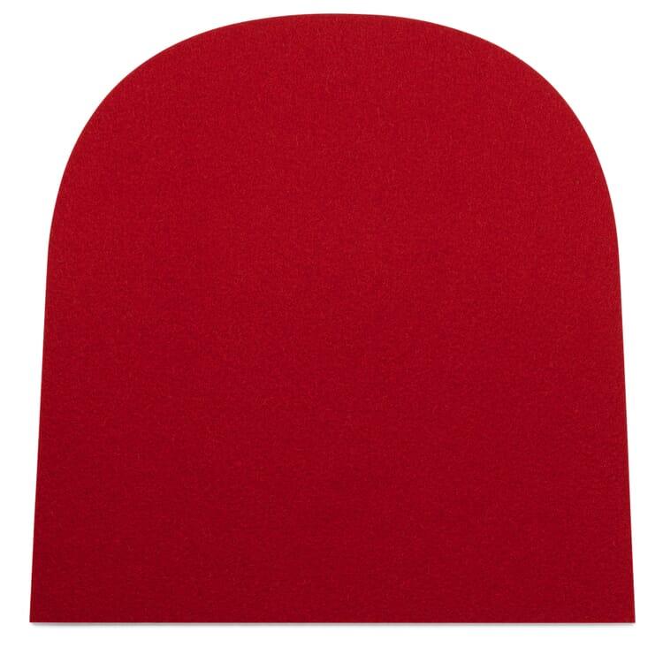 Sitzkissen Filz Frankfurter, Rot
