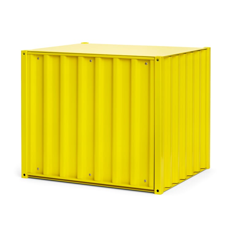Container DS Klein, Schwefelgelb RAL 1016