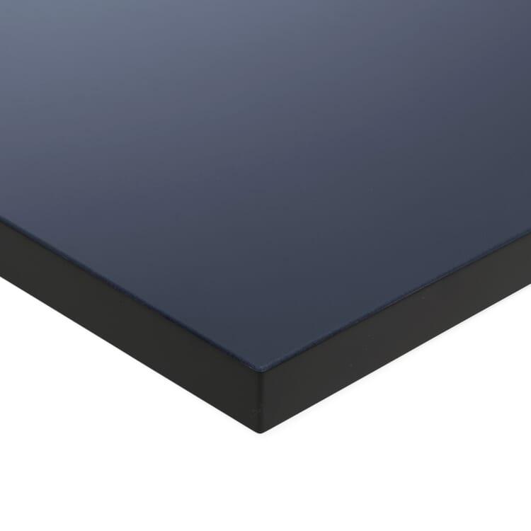 Tischplatte zu Tischgestell ERIK, quadratisch, Dunkelblau