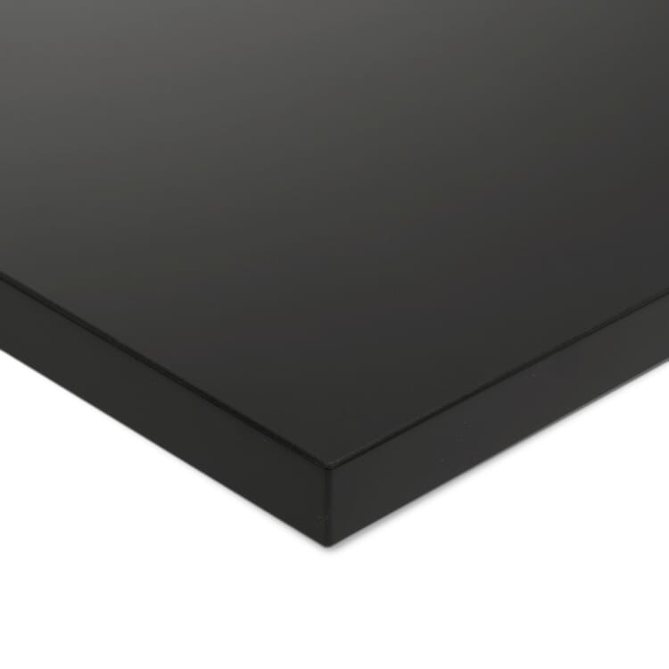 Tischplatte zu Tischgestell ERIK, quadratisch, Dunkelgrau