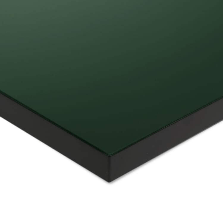 Tischplatte zu Tischgestell ERIK, quadratisch, Dunkelgrün