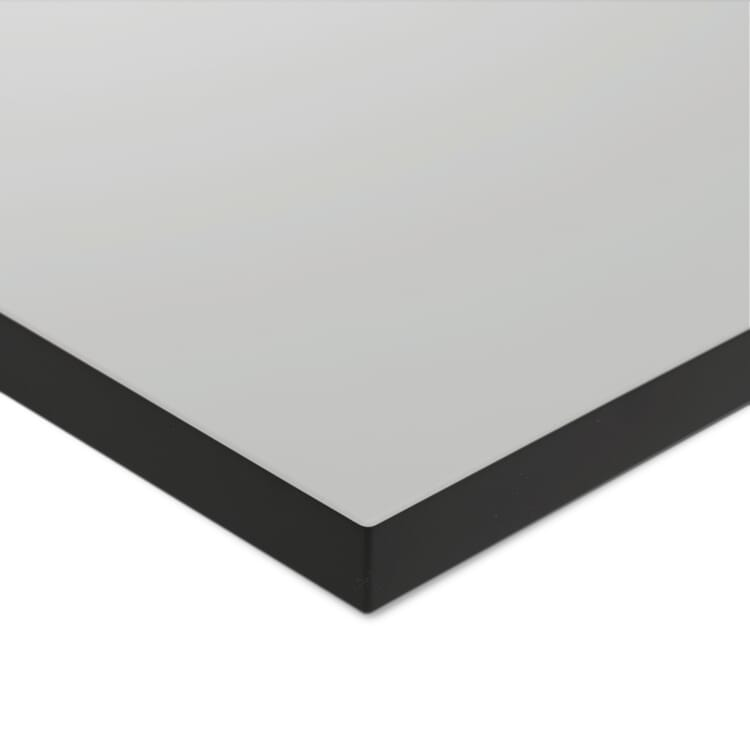 Tischplatte zu Tischgestell ERIK, quadratisch, Hellgrau