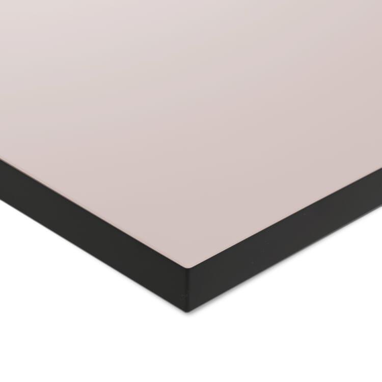 Tischplatte zu Tischgestell ERIK, quadratisch, Puder