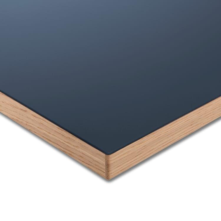 Tischplatte LTL Linoleum, Dunkelblau