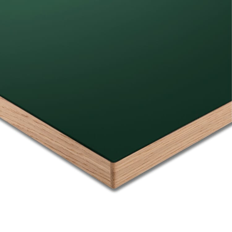 Tischplatte LTL Linoleum, Dunkelgrün