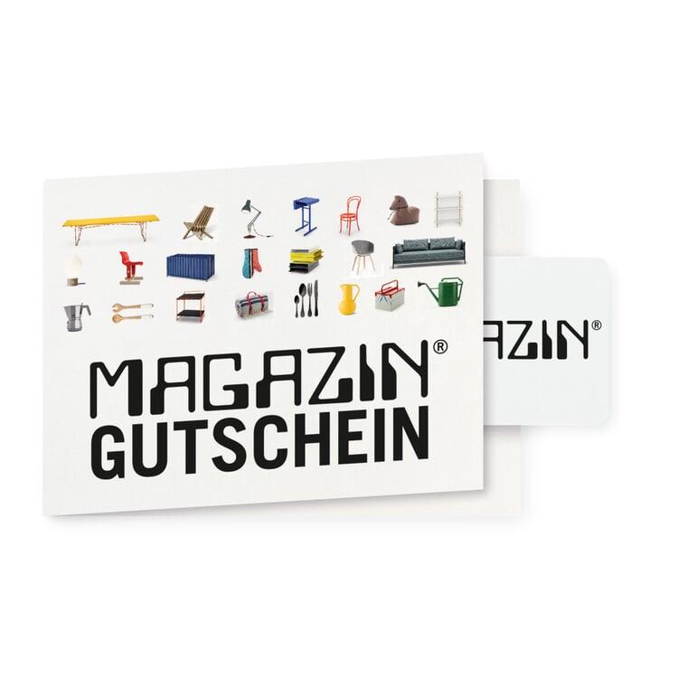 Magazin Gutscheinkarte, Produkte
